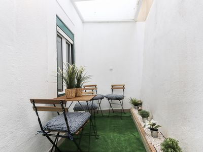 "Photo for Apartment with amazing terrace near Bairro Alto""."