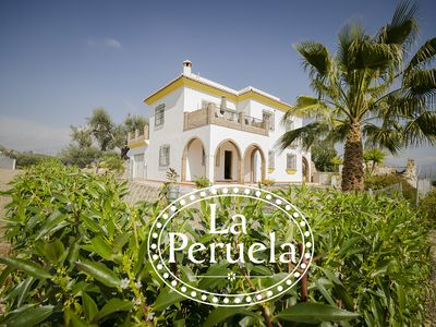 Photo for La Peruela. A Spacious 4 Bed Rural Villa with private pool and stunning views