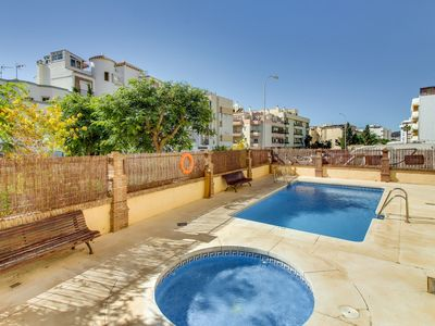 Photo for Apartamento Cala de Nerja, With Pool and Terrace