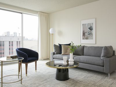 Photo for Bright 1BR in Financial District by Sonder