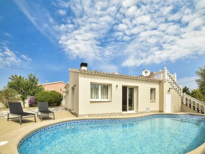 Photo for Vila-real Holiday Home, Sleeps 4 with Pool, Air Con and Free WiFi