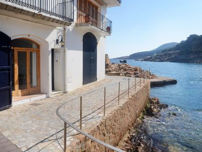 Photo for 2BR Apartment Vacation Rental in Tamariu, Girona
