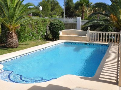 Photo for A delightful modern villa with private pool,situated in Pinosol,Javea.