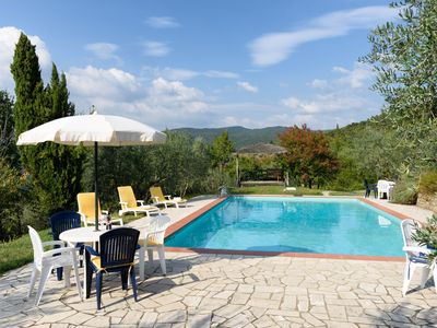Photo for Last Minute Homeaway:- Tuscany  cottage, Pool . lovely setting.