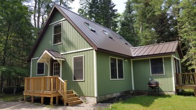 Photo for Woolly Bugger Cabin - A Betsie River Retreat 1 Mile from Crystal Mountain!