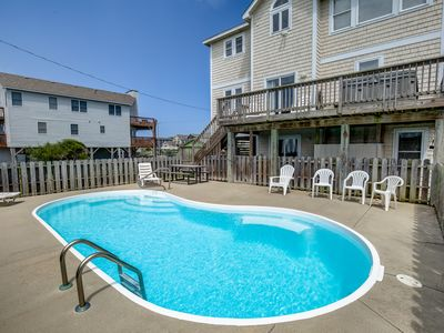 Photo for Sand Baggers Beach House | 480 ft from the beach | Private Pool, Hot Tub