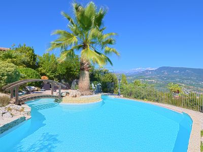 Photo for Sea and Mountain, a provencal property in a dream setting