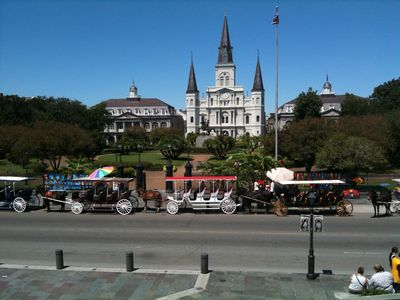 French Quarter Jackson Square is a 5 min Ferry ride away
