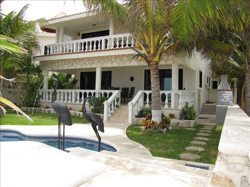 Beautiful Beach Front Luxury House With Poo Vrbo