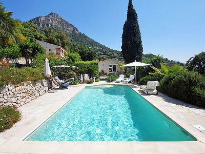 Photo for Vacation home La Fontonne in Vence - 8 persons, 3 bedrooms