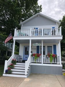 Completely updated and modern cottage in the first block of downtown Grand Haven