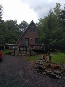 Chalet  located in the heart of the Pocono mountains