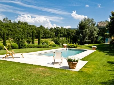 """Photo for """"Gergouven"""" - Delightful Provencal country house, walkable to Menerbes bakery"""