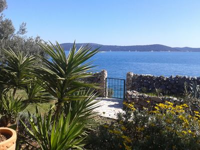 Photo for sea side house in the olive and rosemary garden