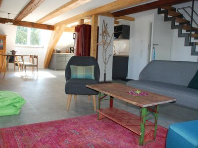 Photo for NEW - Wäschbach - large duplex apartment in the romantic Happenmühle