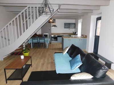 Photo for Detached house along the canal from Nantes to Brest