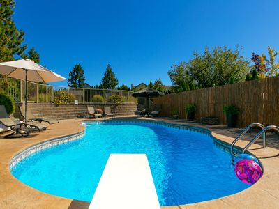 Photo for Poolside Retreat, Peachland