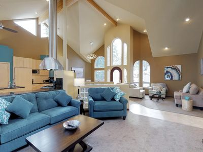 Photo for Gorgeous riverfront home w/ gourmet kitchen, private hot tub, and dock