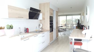 Photo for APARTMENT 74M, RENOVATED TO NEW, GROUND FLOOR, PRIVATE PARKING. LAST MINUTE RATES
