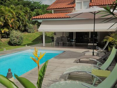 CELICE Villa With Swimming Pool, Landscaped Garden, 3 Air Conditioned  Bedrooms, Sea