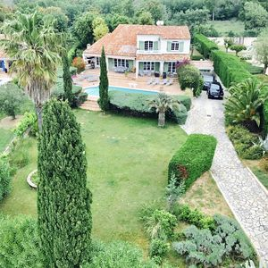 Photo for Magnificent VILLA IN PEACE in GRIMAUD, swimming pool, bowling alley: St Tropez, Ste Maxime
