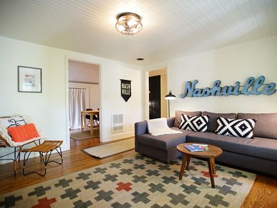 Photo for Charming Space In The Heart Of Nashville's 12 South, Vanderbilt, Downtown