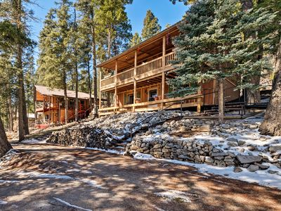 Photo for NEW-Cloudcroft Cabin w/Deck in Lincoln Natl Forest