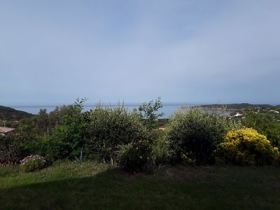 Photo for Plage du Péro Sea view, ground floor with private garden-