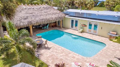 Photo for Tropical Paradise Beach Style Home with Tiki. Great Location. Accepting Bookings