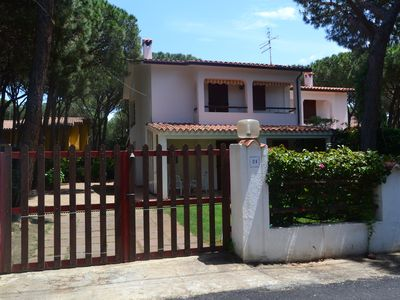 Photo for Comfortable villa with garden in distance 100 m from the beach in Sardinia.