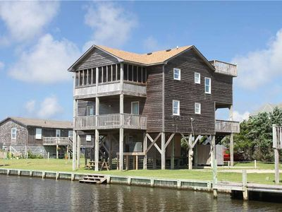 Photo for Waterfront w/Direct water access & sunsets!