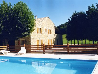 Photo for Cottage for 4 people with large private pool of 50m² in Provence