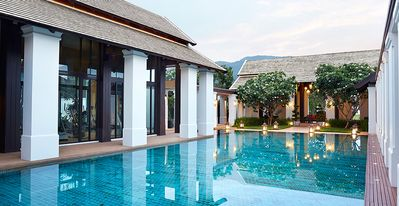 Photo for EXQUISITE POOL VILLA EUROPEAN LUXE FURNISHED MAID CAR CENTRAL PEACEFUL 350SQM !