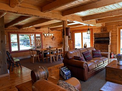 Photo for A Great 4 Season Home ;  Relaxing, Rustic, Scenic - This Home Has It All