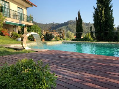 Photo for Enjoy its incredible views, from the relaxation of the pool. VUT-PO-002492