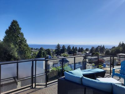Photo for Beautiful view and walk to the beach in White Rock.
