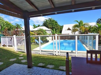 Photo for T2 air conditioned, swimming pool, 2 to 4 people