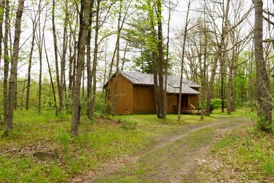 Exterior view of Cabin #4 - Exterior view of Cabin #4