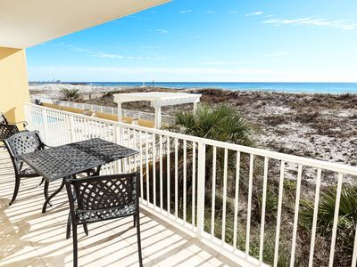 Photo for Direct Beach View from 2nd Floor, Easy access to Pool and Beach, Bch Svc - gd108
