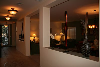 Hallway  to Living & Formal Dining