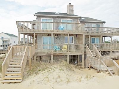 Photo for OCEANFRONT BEAUTY FEATURING 4 BEDROOMS, GREAT OCEAN VIEWS, AND DOG FRIENDLY!!