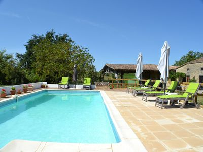 Photo for Le Mûrier gite - a relaxing holiday cottage in Bordeaux wine countryside