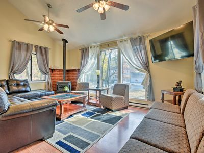 Photo for NEW-East Stroudsburg Home w/Game Room & Large Deck