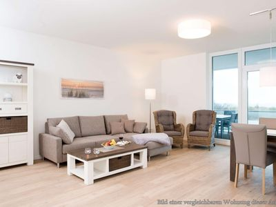 Photo for This 93 sqm penthouse apartment overlooking the Baltic Sea and everything is modern and