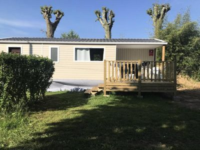 Photo for Camping Le Soulhol *** - Mobil Home 3 Rooms 4 People
