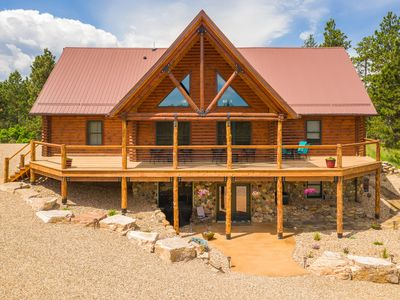 Peace & Quiet Awaits You At Our Log Cabin!