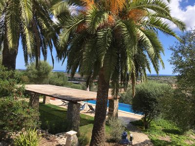 Photo for Traditional Majorcan finca with panoramic views to the coast and the mountains
