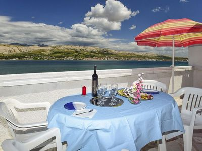 Photo for Apartments Smail (25291-A5) - Pag - island Pag