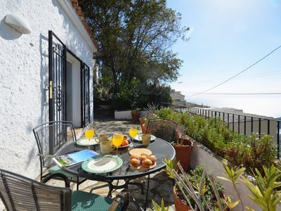 Photo for Cozy little apartment located on the Aiguablava side, 3km from the beach, the port of Forn