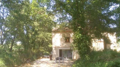 Photo for Apartment in villa between uzege and the cevennes